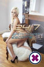 Yasmin is a super sexy British Escort in Birmingham