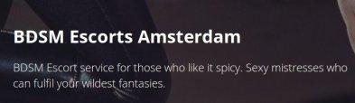 Amsterdam Escort Agency | BDSM  Escorts Amsterdam